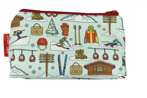 Selina-Jayne Skiing Limited Edition Designer Cosmetic Bag